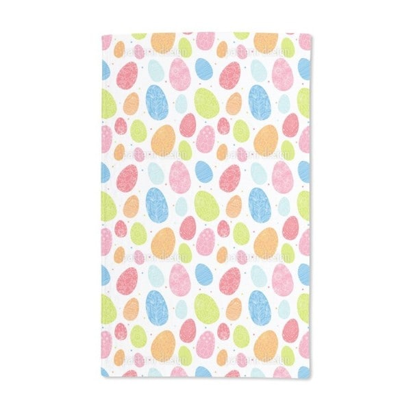 Eggs Dressed Up to Party Hand Towel (Set of 2)