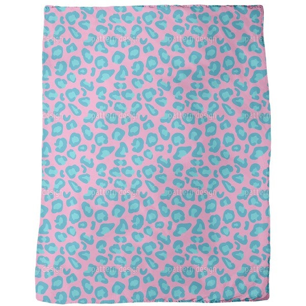 Leopard Animal Print Fleece Blanket