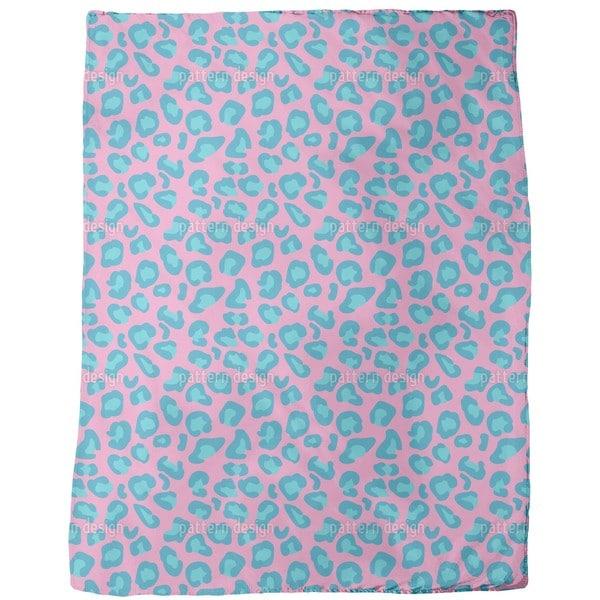 Leopard Animal Print Fleece Blanket