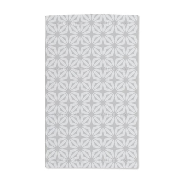 Stella Silver Hand Towel (Set of 2)