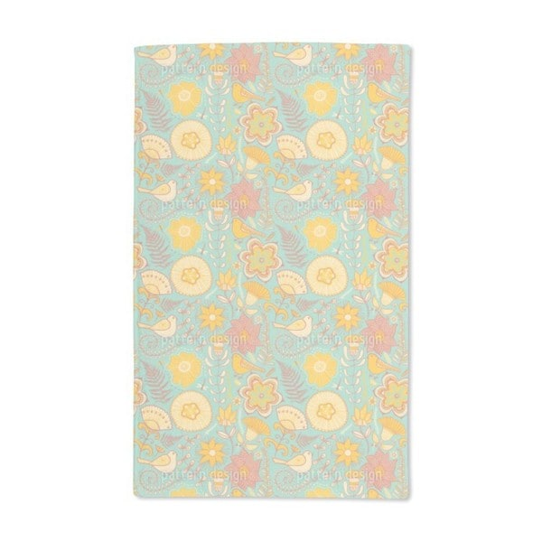 Birds Paradise Hand Towel (Set of 2)