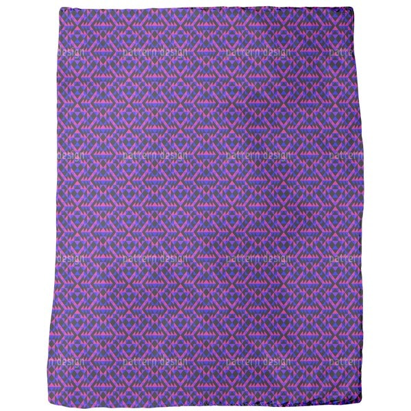 Ultra Geo Symmetry Fleece Blanket