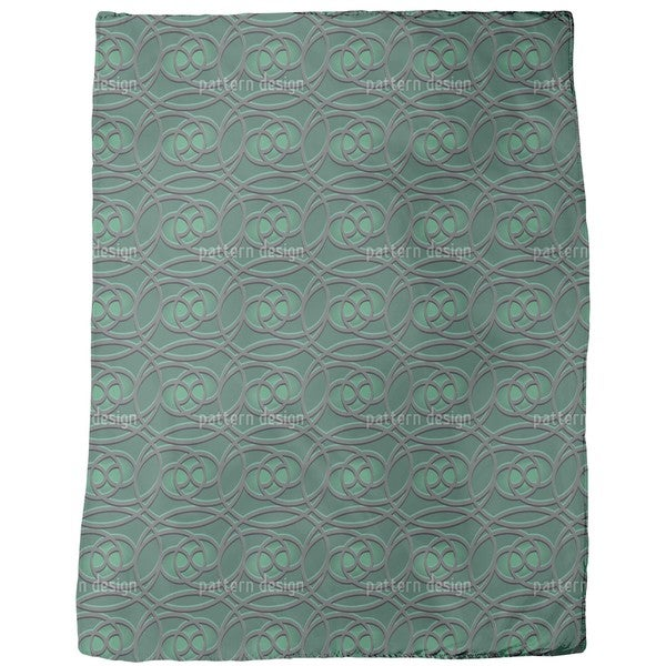 Celtic Emerald Fleece Blanket
