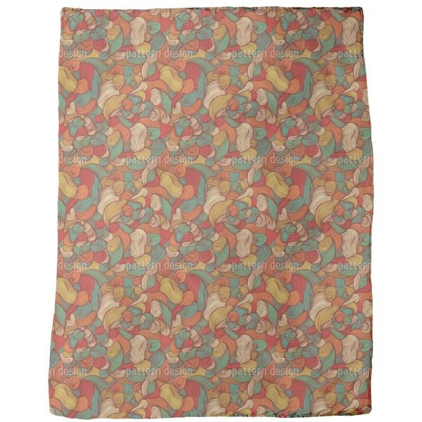 Visit the Mad Hair Maker Fleece Blanket