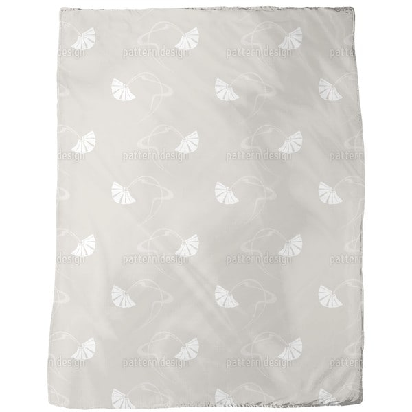 Burlesque Beige Fleece Blanket