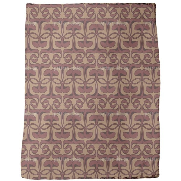Fin De Siecle Fleece Blanket
