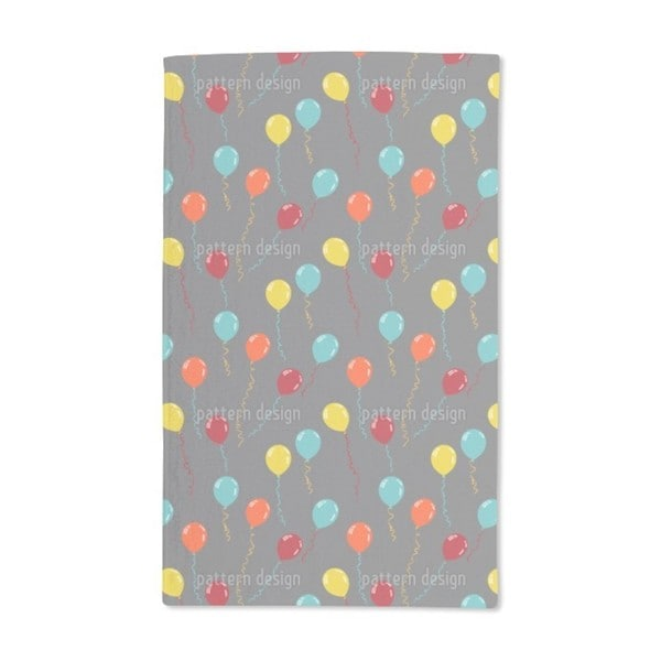 Party Balloons Hand Towel (Set of 2)