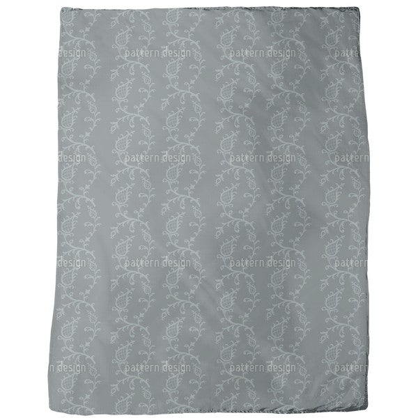Cinderella Grey Fleece Blanket