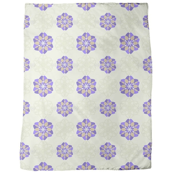 Rosa Floralis Fleece Blanket