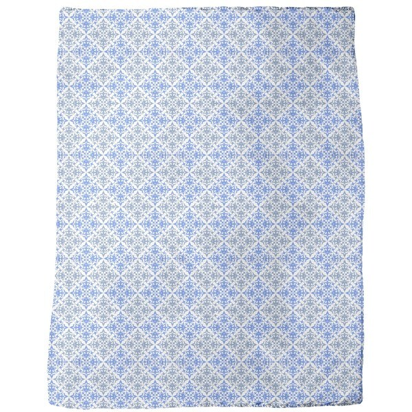 Cross Over Fleece Blanket