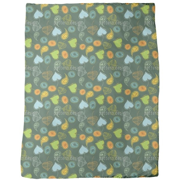 Tutti Frutti Fleece Blanket