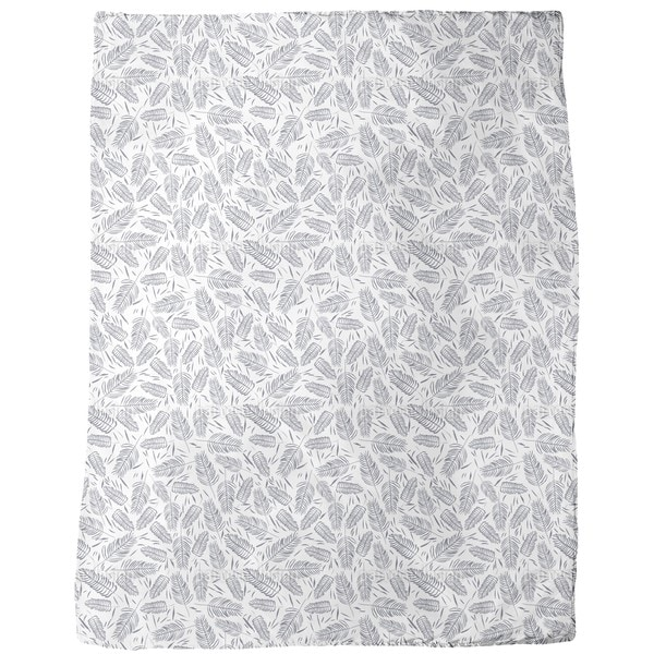 Fern Thicket Fleece Blanket