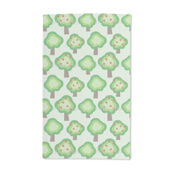Apple Trees Hand Towel (Set of 2)