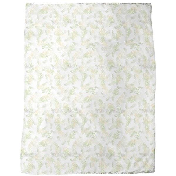 Fern Dreams Fleece Blanket
