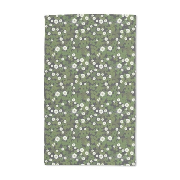 Blossoming Clover Hand Towel (Set of 2)
