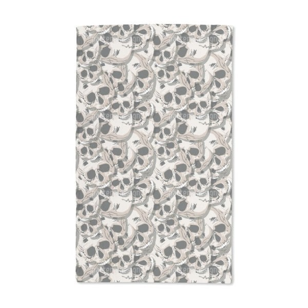 The Skulls of Kutna Hora Hand Towel (Set of 2)