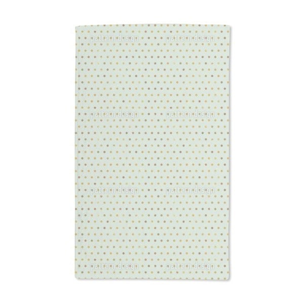 Polka Dots Pale Blue Hand Towel (Set of 2)