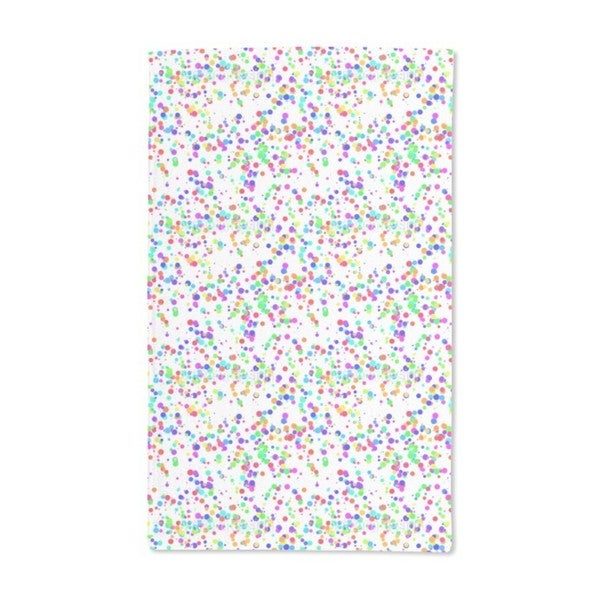 Miscellaneous Colored Confetti Hand Towel (Set of 2)