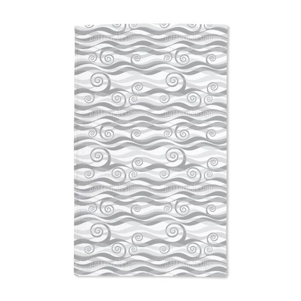 Triton Grey Hand Towel (Set of 2)