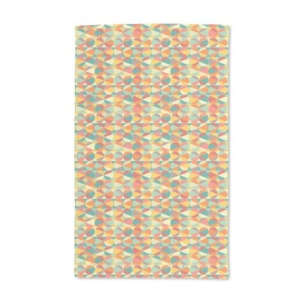 Marble Geometry Hand Towel (Set of 2)