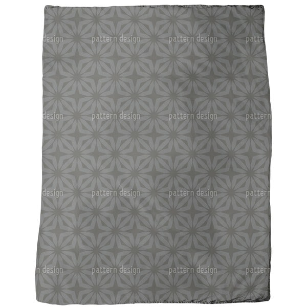 Stella Black Fleece Blanket