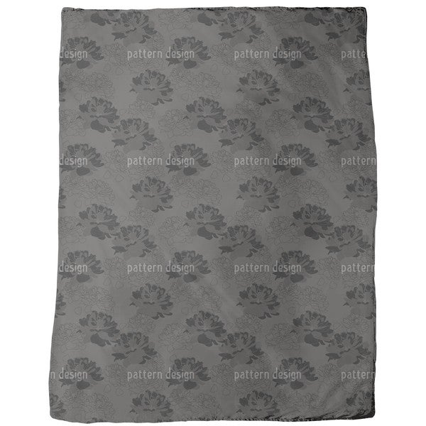 Gone Rosy Gone Fleece Blanket