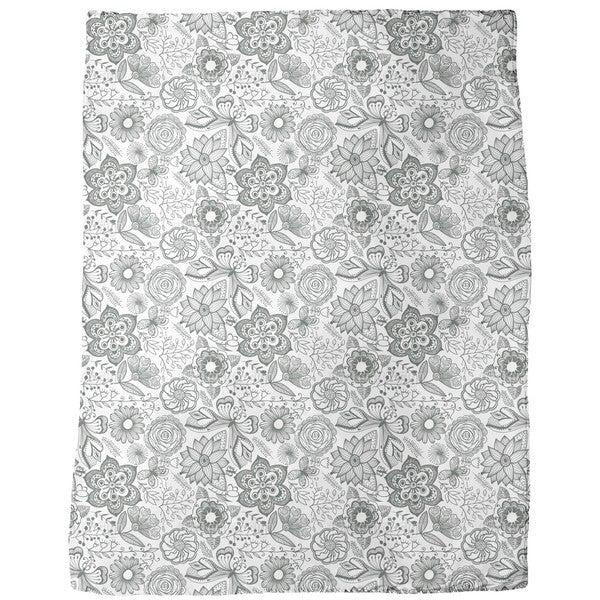 Natural Beauty Fleece Blanket