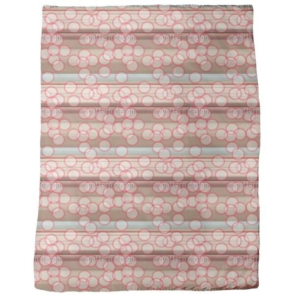 Beam Spots Fleece Blanket