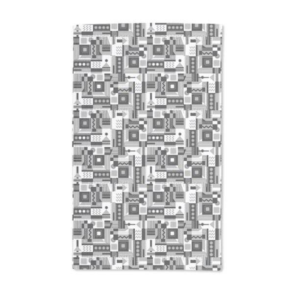 Zigzag Around Hand Towel (Set of 2)
