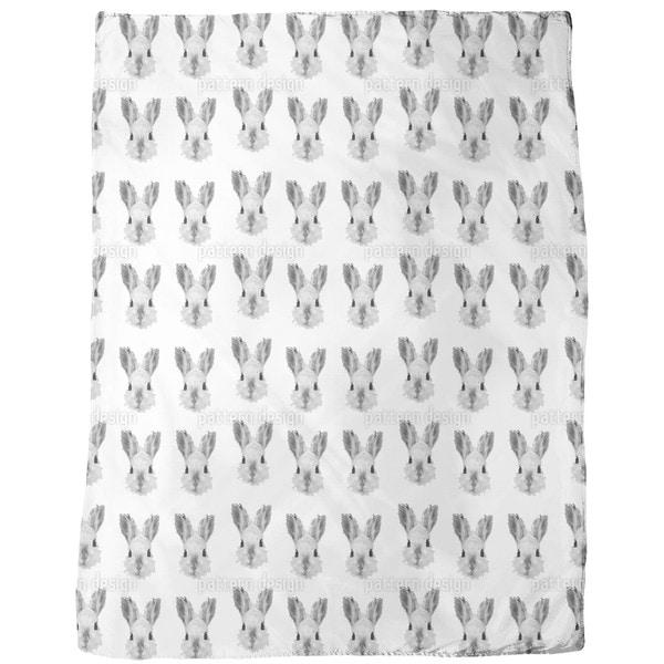 Bunny Most Wanted Fleece Blanket