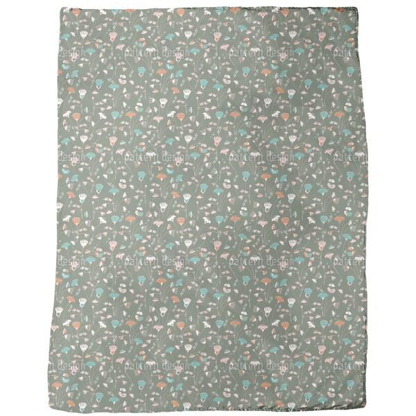 Fantasy with Pink Fleece Blanket