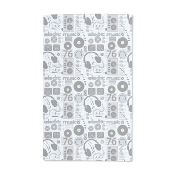 Disc Jockey Hand Towel (Set of 2)