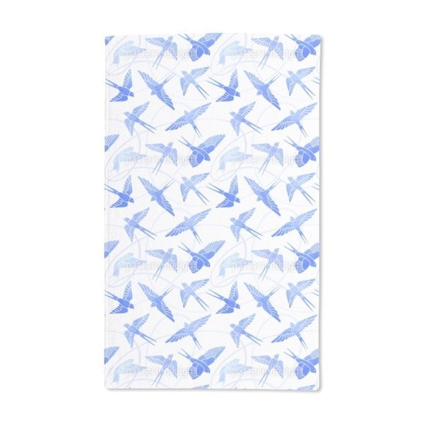 Swallows Flight Hand Towel (Set of 2)