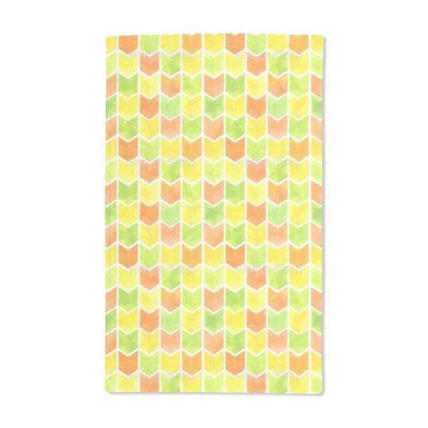 Summer Zigzag Hand Towel (Set of 2)