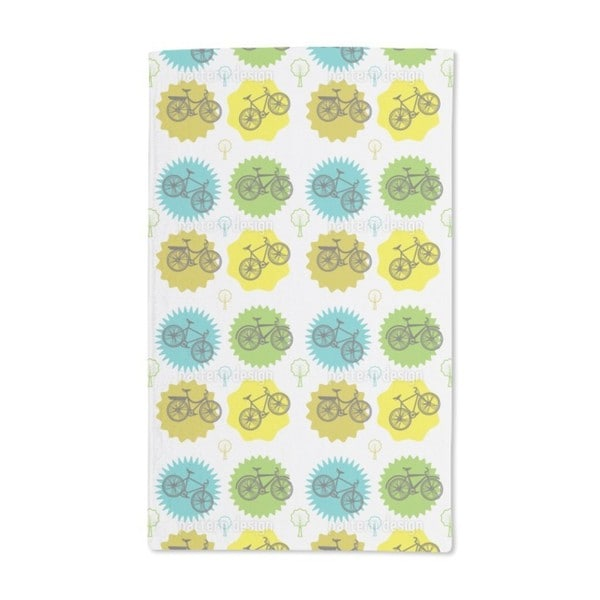 Cool Bikes Hand Towel (Set of 2)