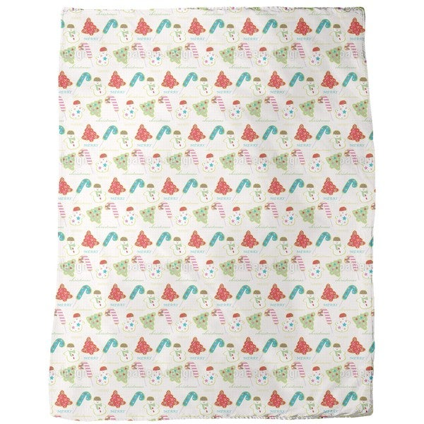 Sweet Christmas Fleece Blanket