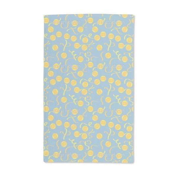 Lemon Slices Hand Towel (Set of 2)