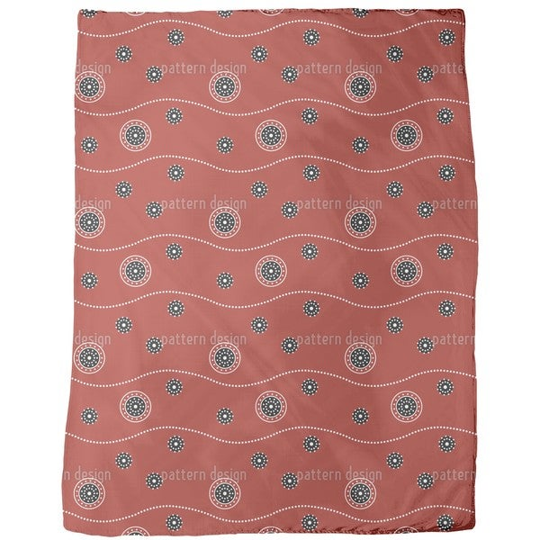 Dream Tracks Fleece Blanket