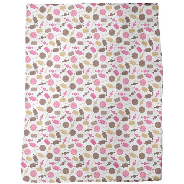 Candy Caramel Fleece Blanket