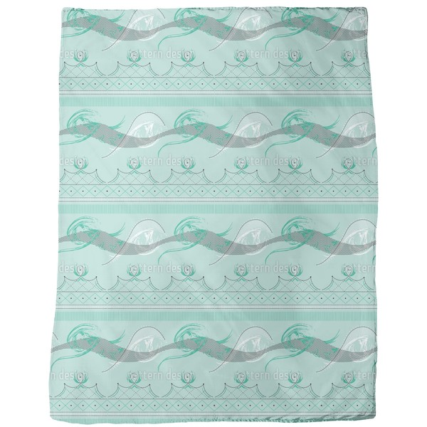 Moulin Vert Fleece Blanket