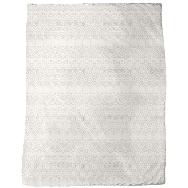 Alhambra Beige Fleece Blanket