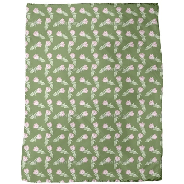Tulip Romance Fleece Blanket