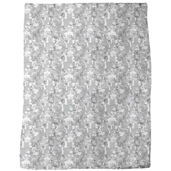 Pixel Storm Fleece Blanket