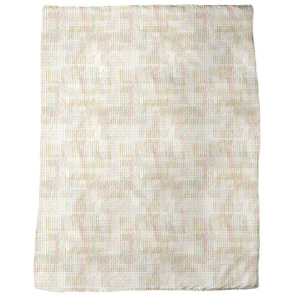 Twinkling Pixels Fleece Blanket