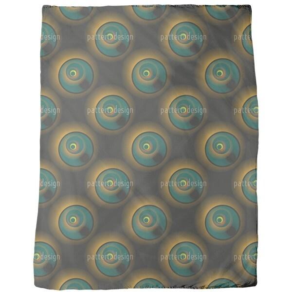 Solar Eclipse Fleece Blanket
