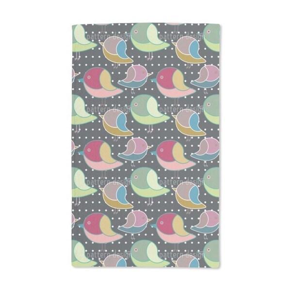 When Little Birds Dream Hand Towel (Set of 2)