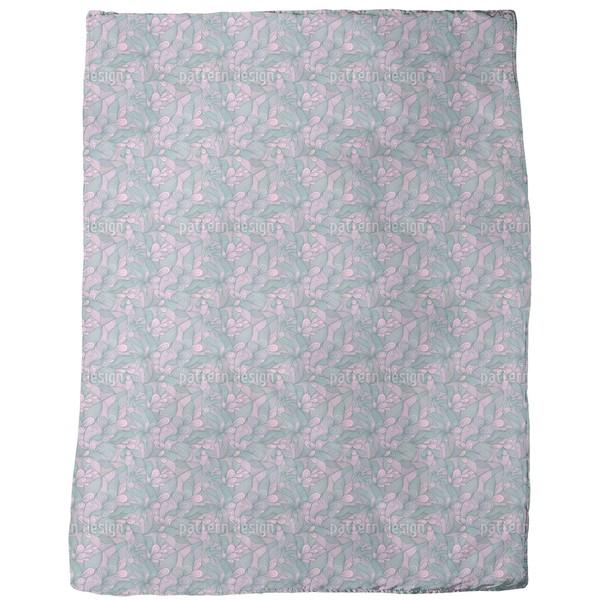Floral Bonding Fleece Blanket