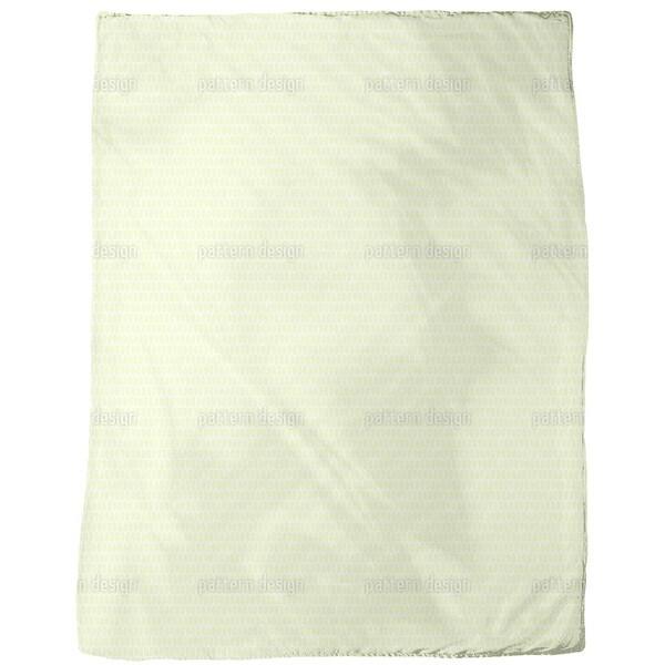 Scale Skin Yellow Fleece Blanket