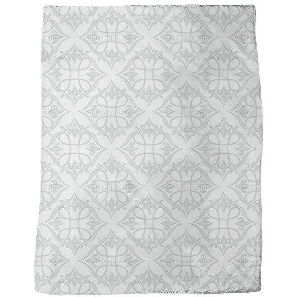 Renaissance Grey Fleece Blanket