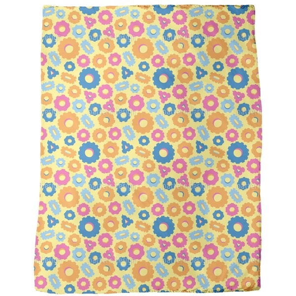 Funny Gear Fleece Blanket